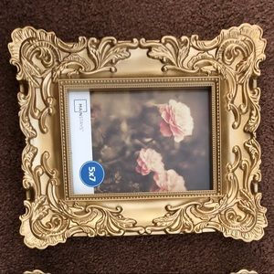 Other - Mainstays 5x7 Gold Baroque Picture Frame